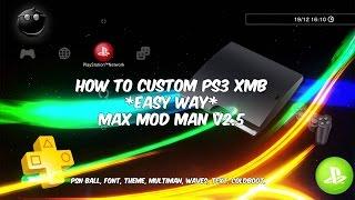 PS3 How To Add 4332 Modded PSN Avatars! (CFW 4 82) - PakVim