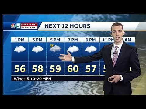 Video: Showers continue, remaining chilly