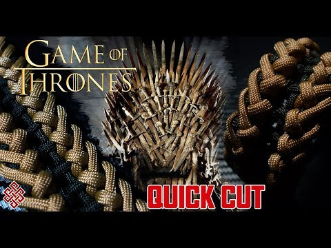 How to Make the Game of Thrones Paracord Bracelet Tutorial Quick Cut