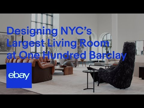 Using eBay Collective to Decorate NYC's Largest Living Room at One Hundred Barclay