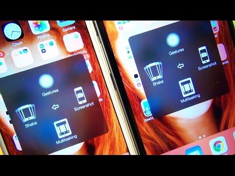 iPhone 6 / 6 Plus ScreenShot / Capture / Print Screen - One Handed?
