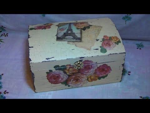 Download tutorial decoupage su bauletto di legno con carta di riso in full hd mp4 3gp video and - Decoupage su mobili in legno ...