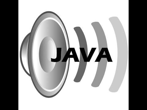 Java: How to play .wav files