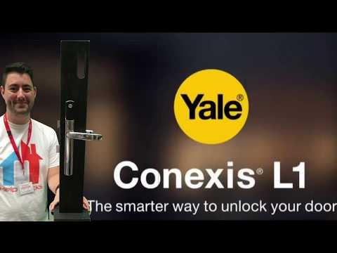 Yale Conexis L1 Smart Door Lock From Help Locks https://www.helplocks.com