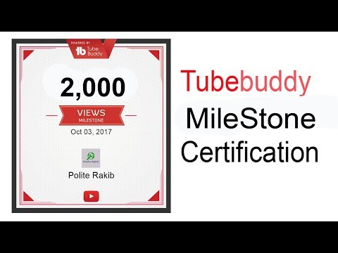 Make Youtube Channel Milestone Certificate | Achievement Certificate