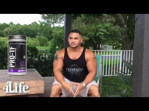 Best Whey Protein Powder for Lean Muscle and Weight Loss | 4Life Pro TF Shake