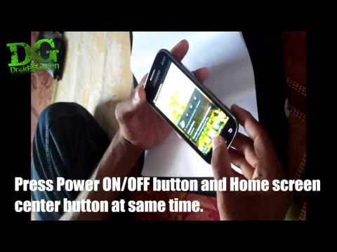 Take Samsung Galaxy S duos Android 4.0 ICS Screenshot video