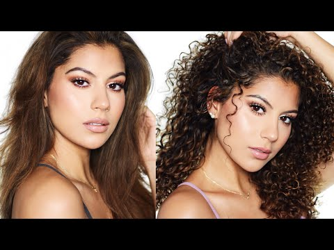 How To Revive Curls After Straightening! | Treatment Mixture