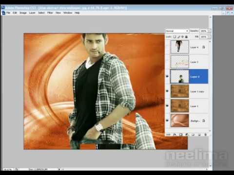 How to create Flex banner in Adobe Photoshop