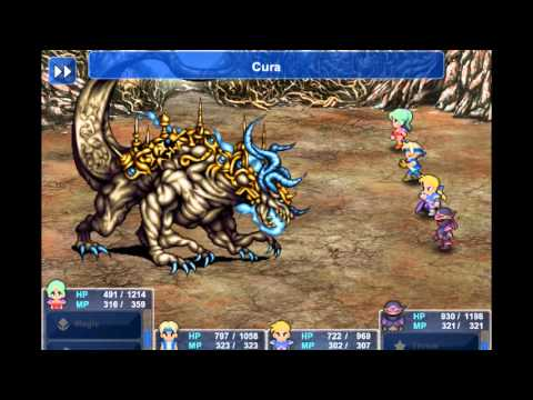 Final Fantasy VI Steam Gameplay #13 Ultima Weapon boss battle