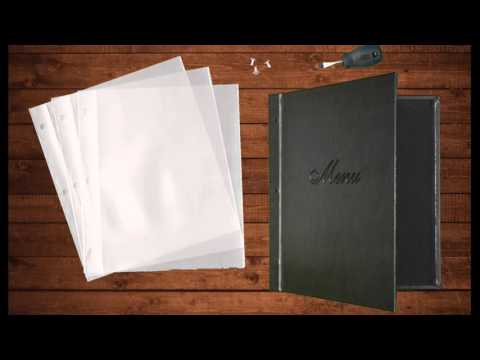 Elite Restaurant Menu Cover by Kronos Menus
