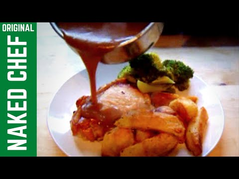 Gravy How to Make perfect gravy from pan juices simple recipe