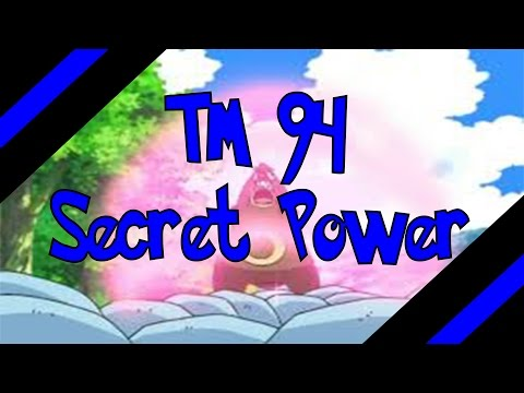 How To Get TM 94 - Secret Power In Omega Ruby and Alpha Sapphire (Oras)