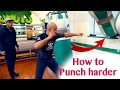 How to Punch Hard and Correctly