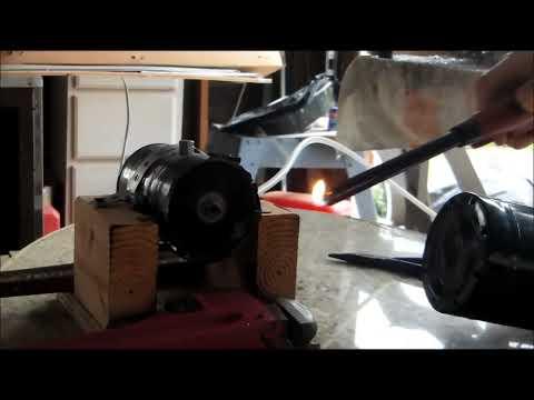 Homemade Tin Can Jet Engine Test 11