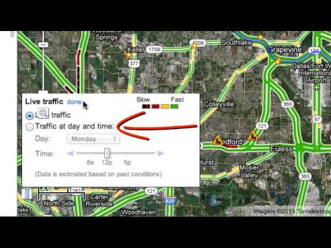 How to Use Google Maps to Check Traffic Conditions