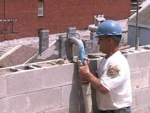 Masonry Block Fill, Core Fill, Mortar Pumping, Grout Pumping, AIRPLACO PumpMaster
