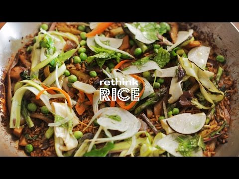 Rethink Rice | A Healthy Spin on Paella with Chef Seamus Mullen | Sponsored