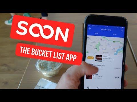 SOON: The Bucket List App