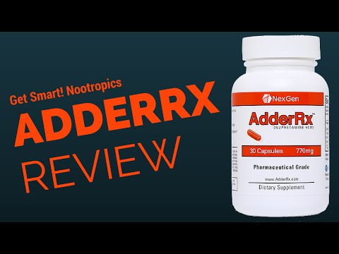 AdderRx (formerly Amphetarol) Review, and a Breakdown of its Ingredients