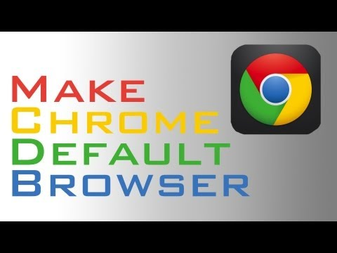 Make Chrome for iOS the Default Browser