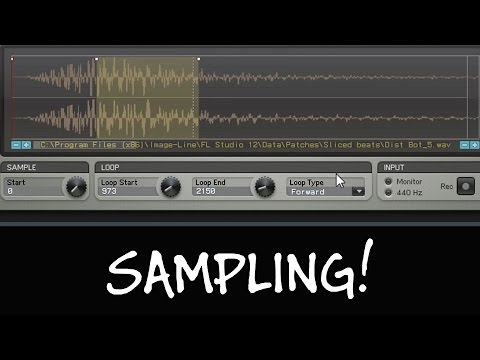 What Is Sampling And How To Change Up A Sample? (FL Studio 12)