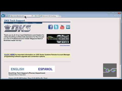 DoorKing Telephone Entry Software Training Video 1