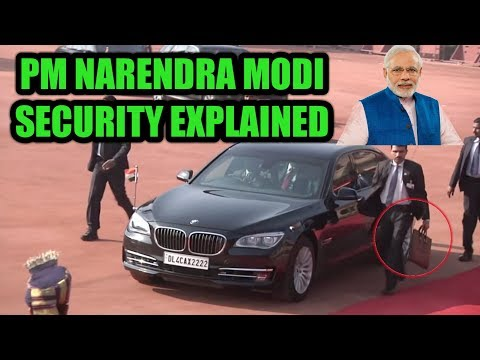 Narendra Modi SPG Security | Special Security Force | 7 layer Security