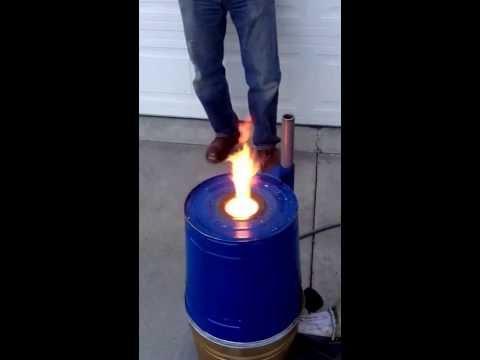 Burning off coolant.