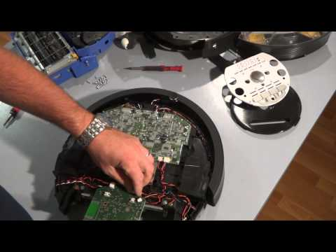 How to Disassemble and Replace the Bumper Sensors on the iRobot Roomba 700 Series Part 2
