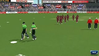 3rd April 3rd FINAL T20 Match Pakistan Vs West Indies Real Cricket 18 aNdroid / IOS Gameplay