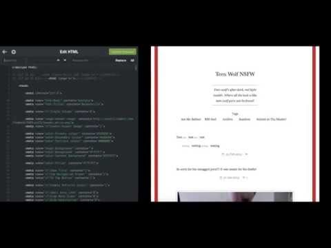 How to change italics in InkHorn tumblr theme