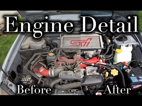 HOW TO: ENGINE BAY DETAIL