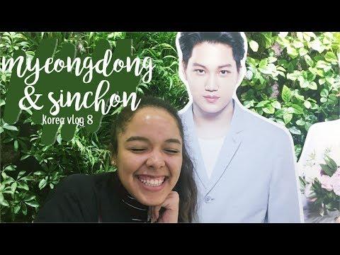 exploring myeongdong & sinchon!! | korea study abroad vlog #8