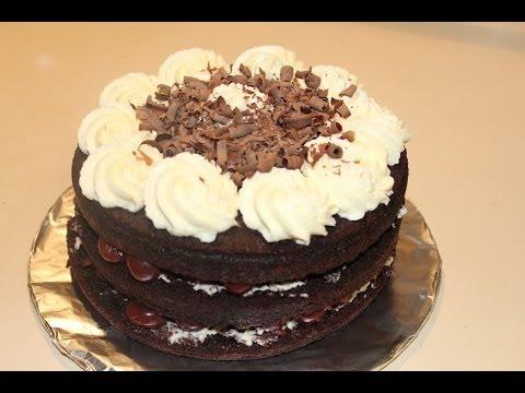 Black Forest Cake / Black Forest Gateau