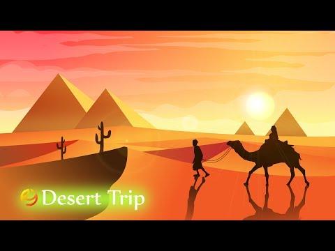 Tutorial easy drawing desert landscape in illustrator