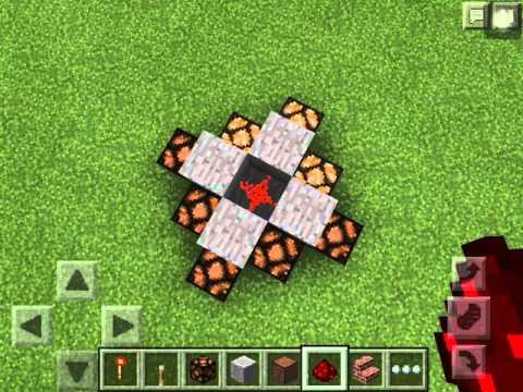 Cool redstone light trick for Minecraft PE v0.14.0
