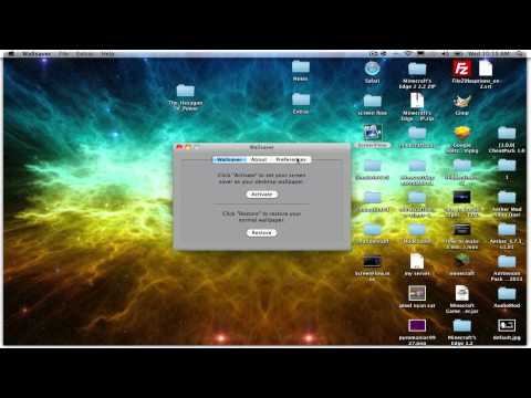 Mac Tutorials: How to get an animated background