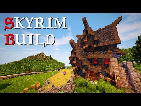Minecraft: Skyrim Inspired Build