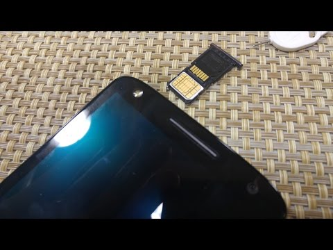 Motorola Droid TURBO 2 How to remove replace & insert SIM Card and Memory Card Moto X Force