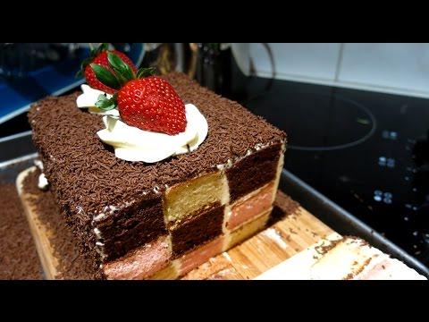 TRIPLE CHECKER CAKE - Recipe