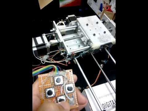Manual control stepper motor using Easy driver and Arduino UNo/Mega