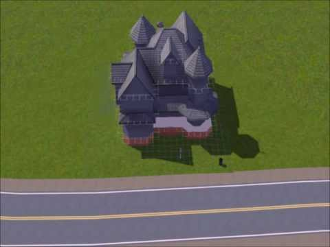 Sims 3 Speed Build Victorian Home