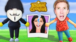 ANIMAL CROSSING vs SPY NINJAS! I TROLLED Hackers in the Game to Sneak Out Vy and Daniel (Hilarious)