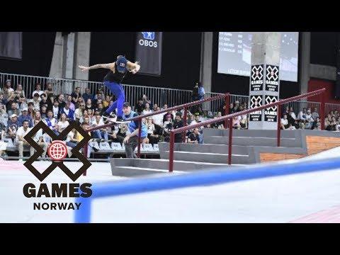 Leticia Bufoni wins Women's Skateboard Street gold | X Games Norway 2018