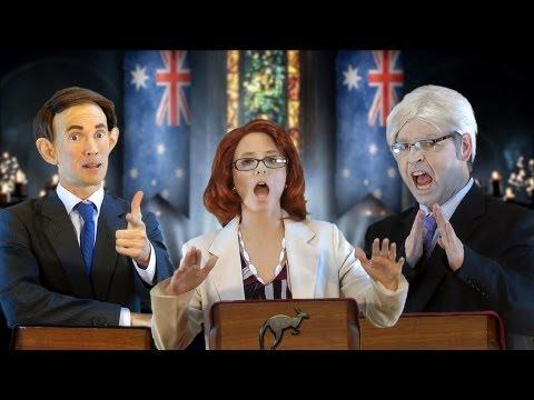 Aussie Election: A Game of Polls - feat. Julian Assange [RAP NEWS 20]