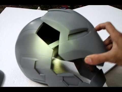 Iron man mark 45 life size  helmet handmade details