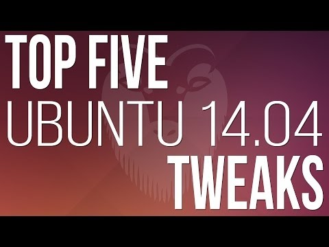 Top 5 things to do after installing ubuntu 14.04 LTS ( Trusty Tahr )