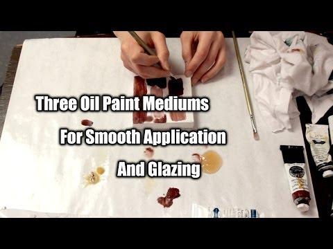 3 Fast Drying Oil Paint Mediums | Maj Askew
