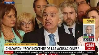 Andrés Chadwick sobre acusación constitucional en su contra